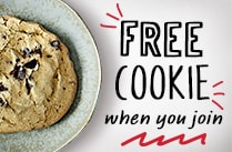 Get a free cookie when you join Rotisserie Rewards