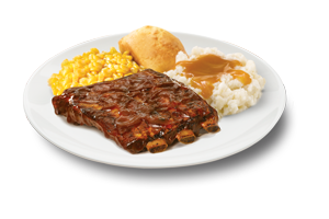 Quarter Rack St. Louis Style <br class='hide-mobile'/>BBQ Ribs