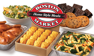 Cater a dinner with Boston Market
