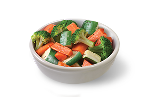 Fresh Steamed Vegetables