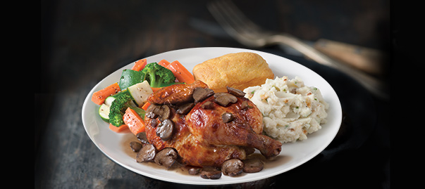 Try our New Rotisserie Chicken Marsala