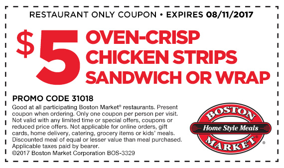 $5 Oven-Crisp Chicken Strips Sandwich or Wrap