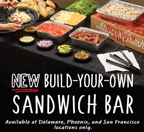 New Build-Your-Own Sandwich Bar